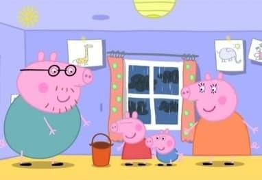 Peppa Pig Season 1 :Episode 32  Thunderstorm