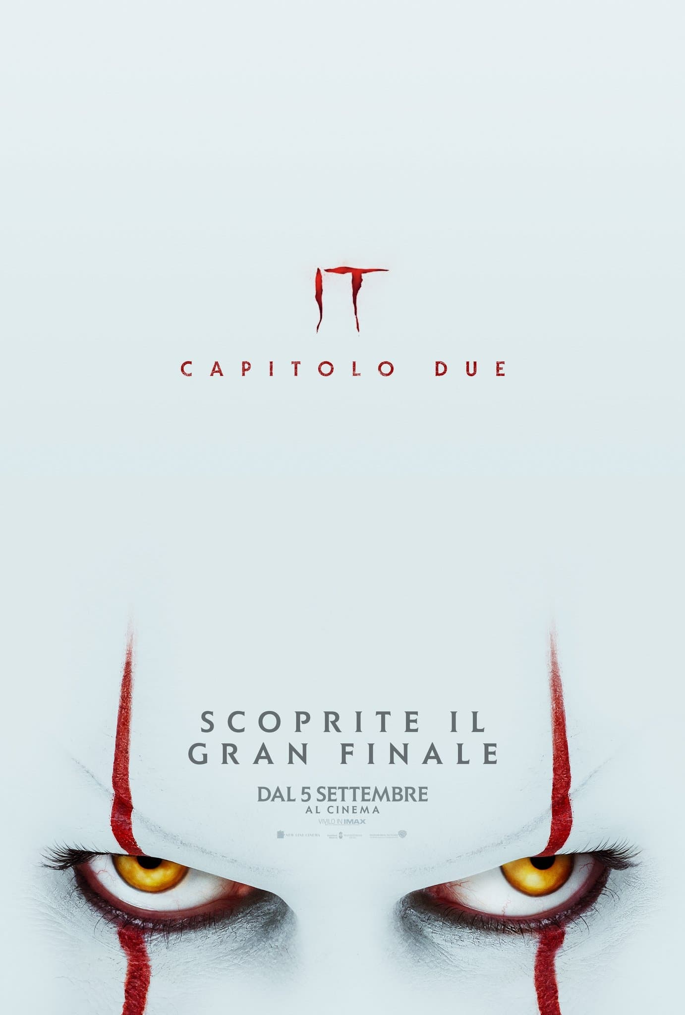 Poster and image movie Film It Chapter Two 2019