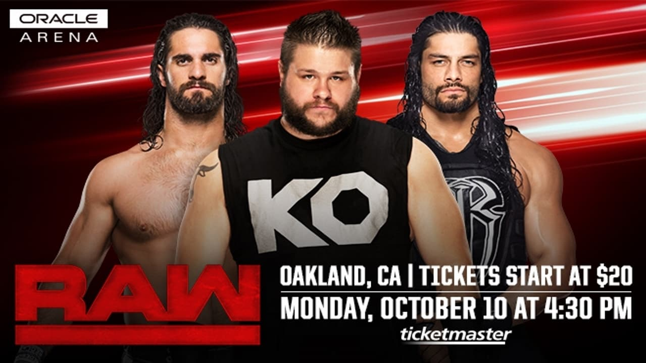 WWE Raw Season 24 :Episode 41  October 10, 2016 (Oakland, CA)