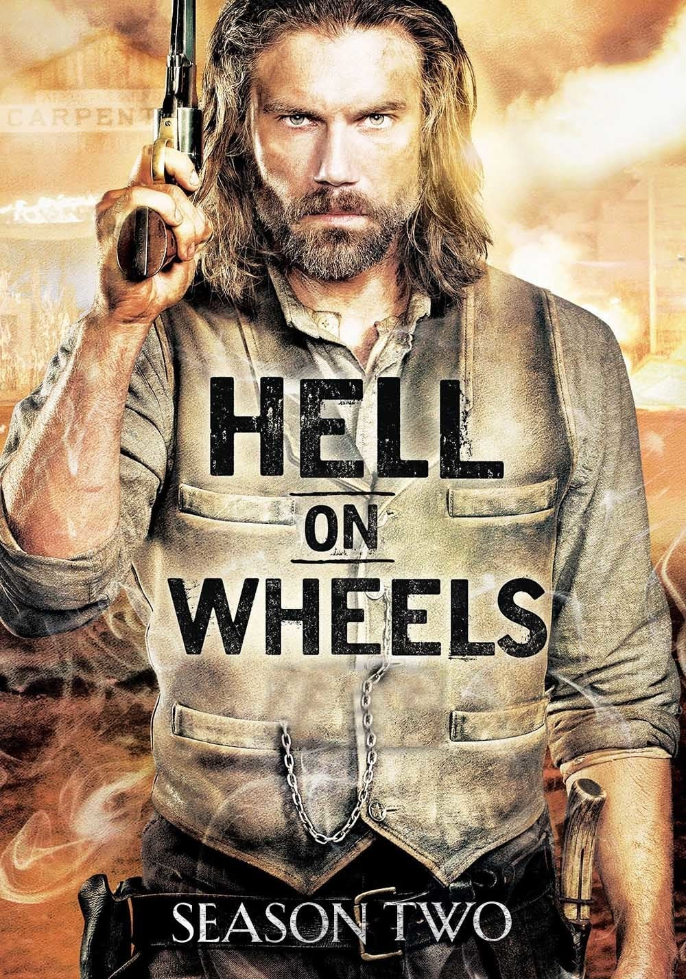 Pragaras Ant Ratų / Hell on Wheels (2012) 2 Sezonas