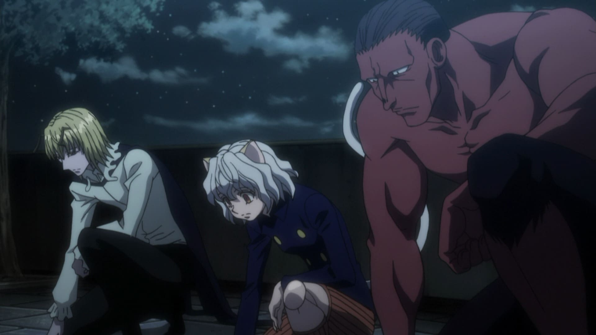 Hunter x Hunter Season 2 :Episode 46  Gungi x Of x Komugi