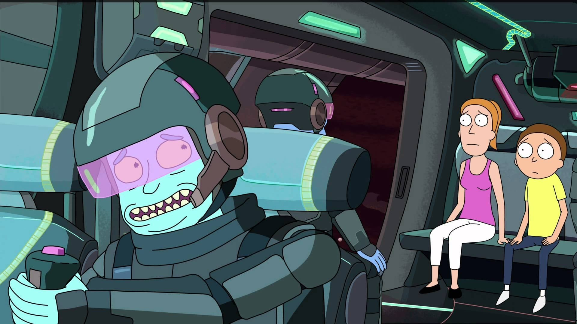 Rick and Morty Season 2 :Episode 3  Auto Erotic Assimilation
