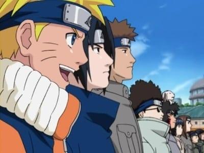 Naruto Season 0 :Episode 6  Naruto OVA 4: Finally a clash! Jounin VS. Genin!! Indiscriminate Grand Melee Tournament!!