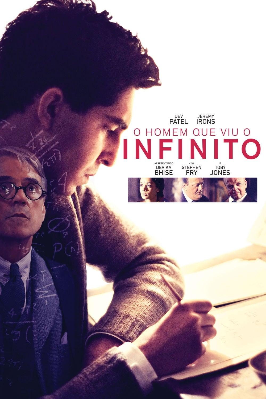 capa O Homem que Viu o Infinito