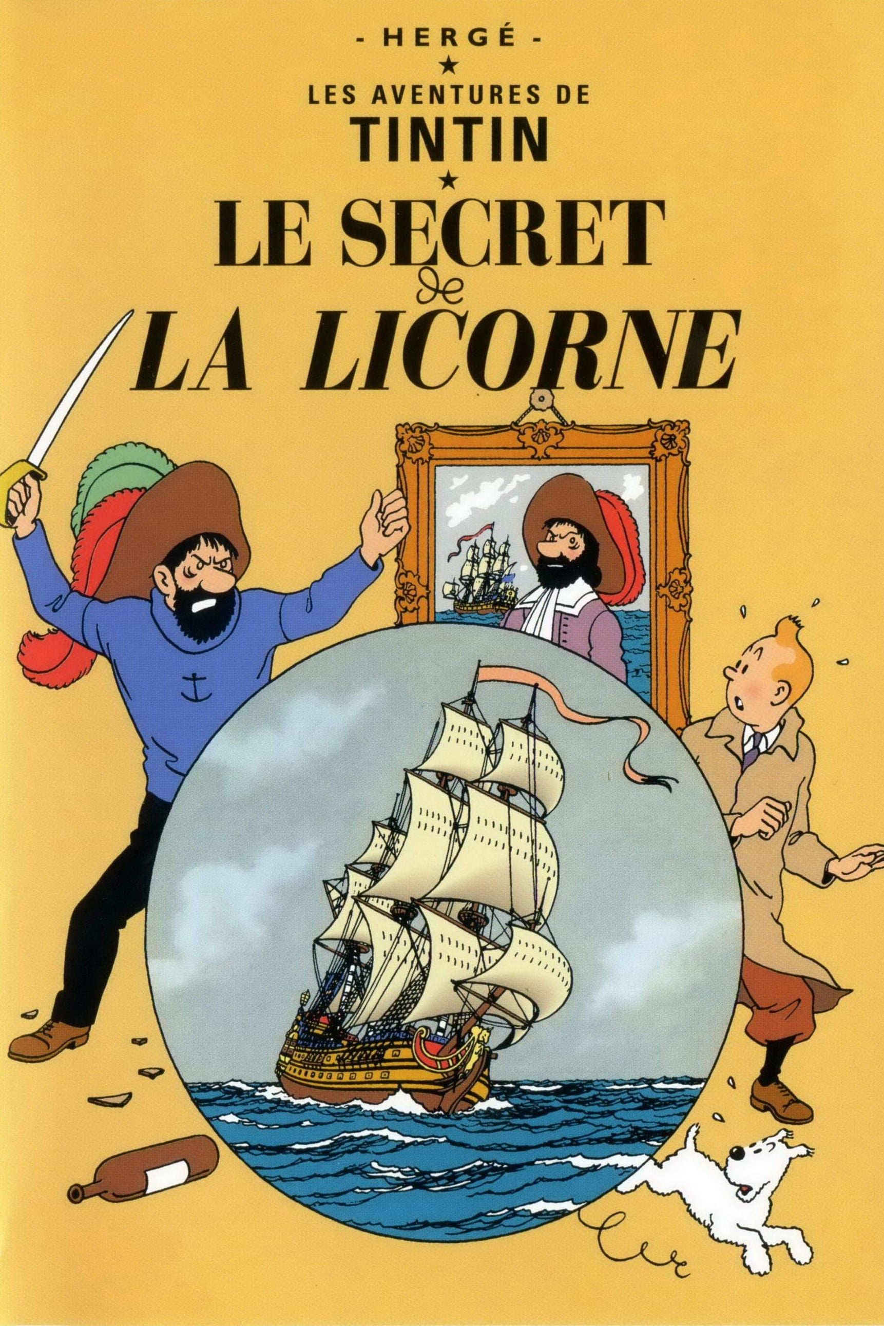 Les Aventures De Tintin 09 Le Secret De La Licorne - 1992
