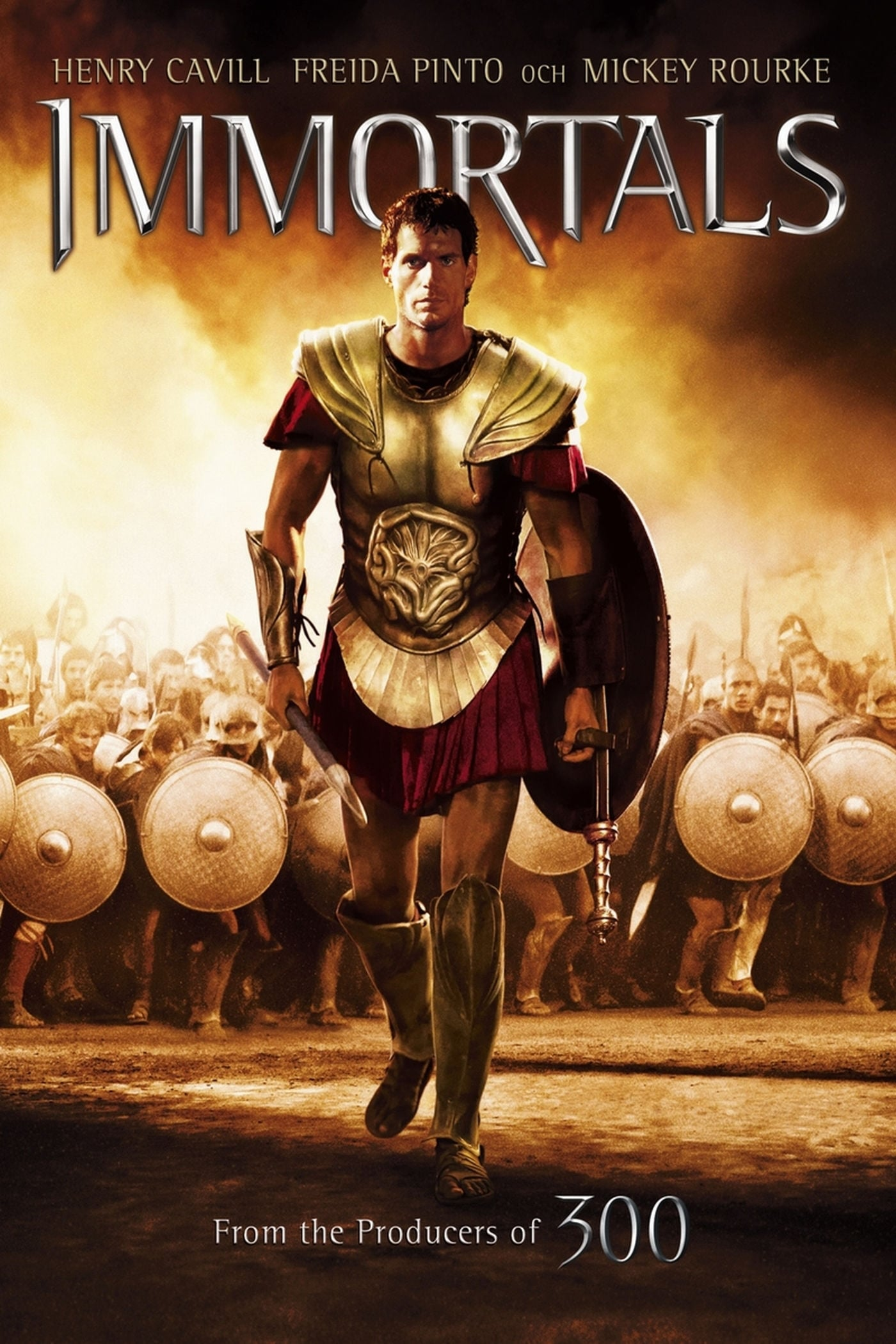 Immortals (2011) - Posters — The Movie Database (TMDb)