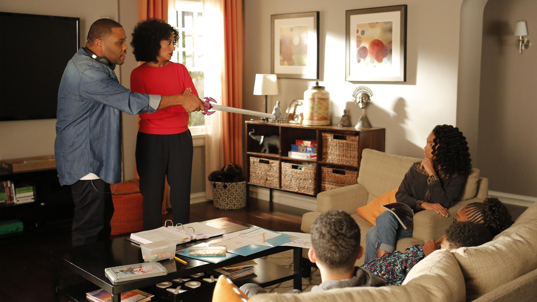 black-ish Season 1 :Episode 21  The Peer-ent Trap