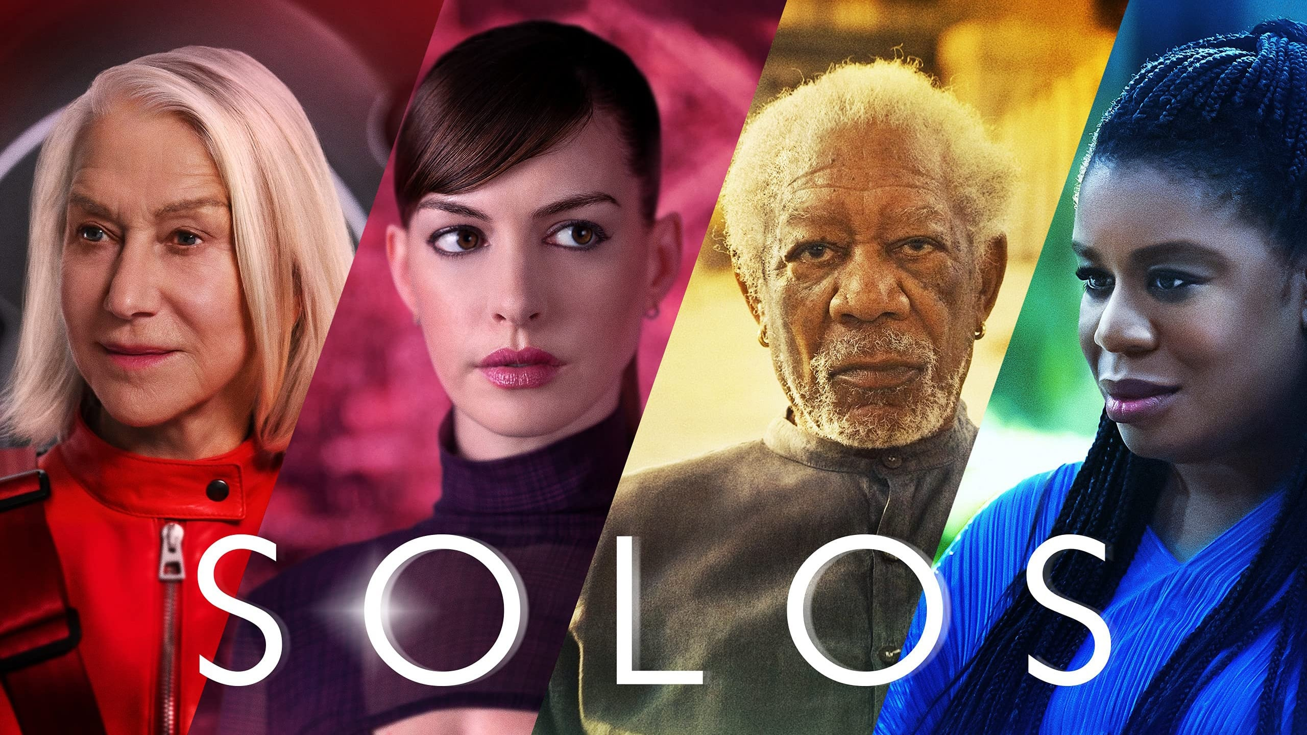 Trailer for anthology series Solos featuring Morgan Freeman and Anne Hathaway