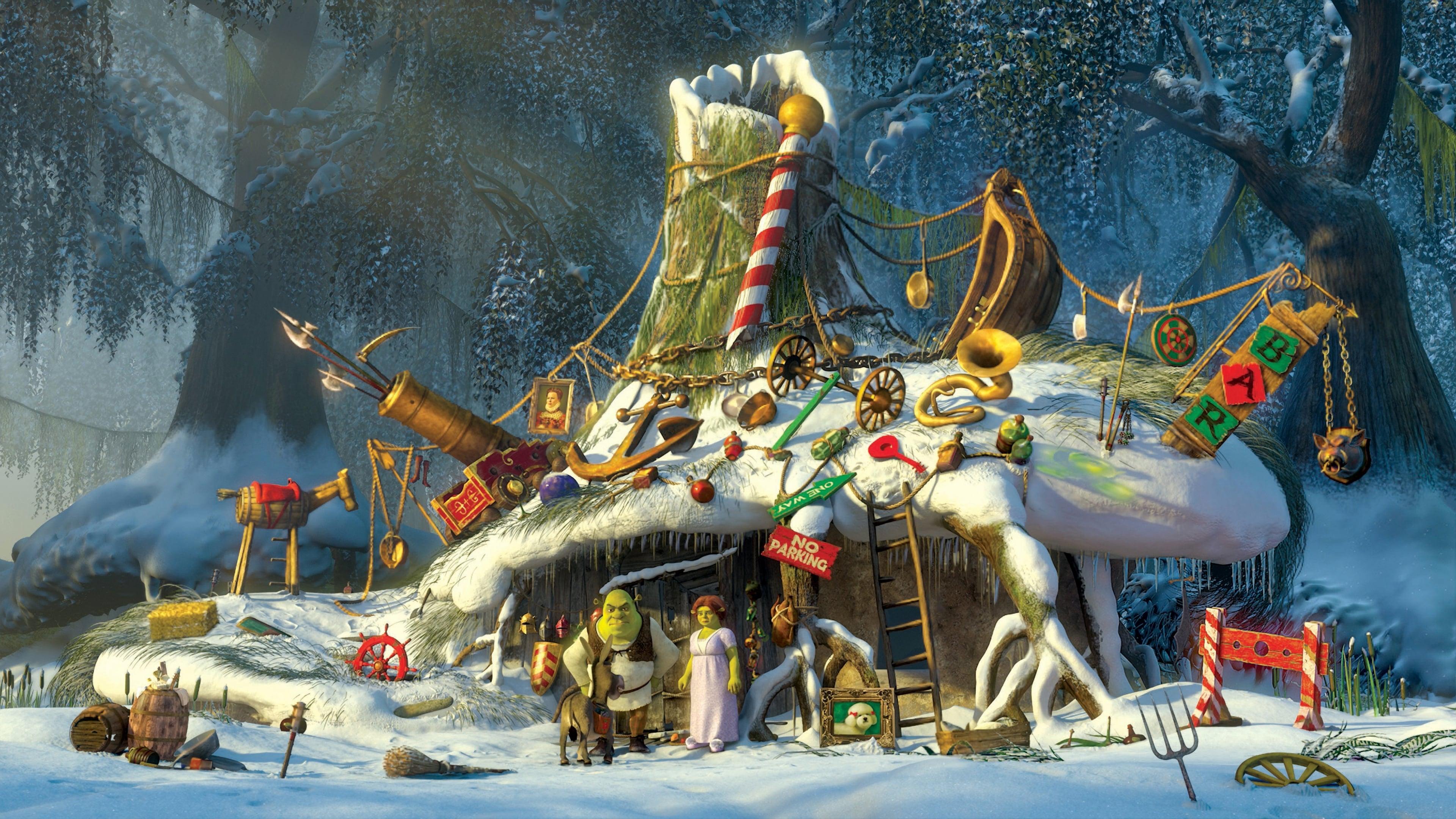 Shrek – ogrorisa la navidad