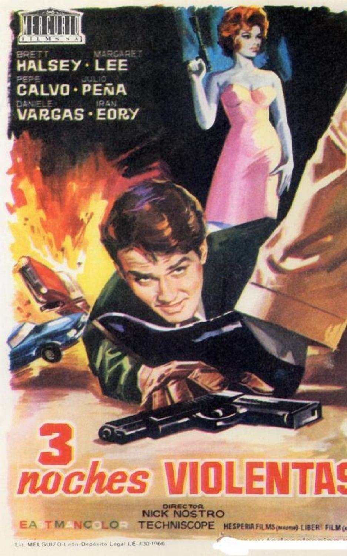 Ver Tres noches violentas Online HD Español (1966)
