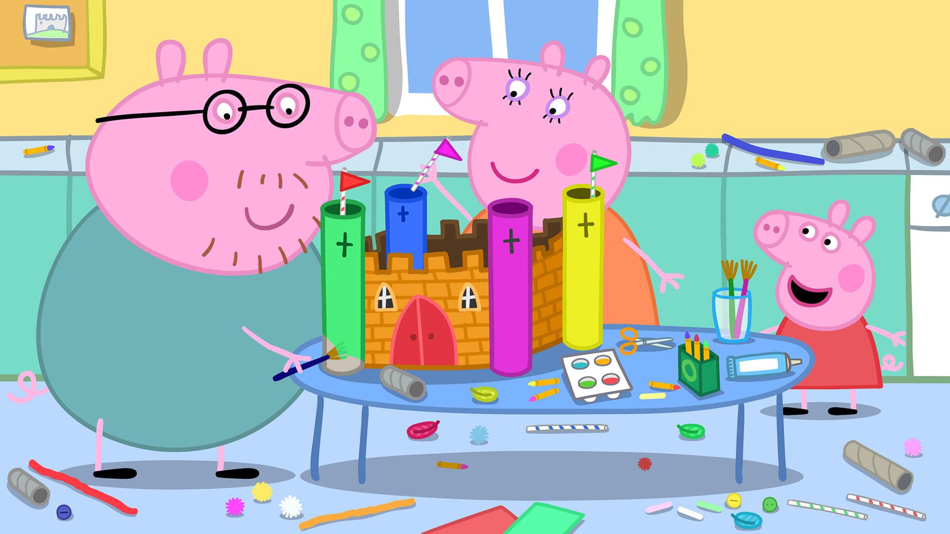 Peppa Pig Season 5 :Episode 10  School Project