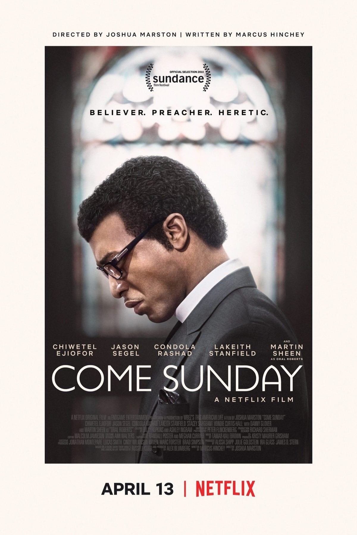 Póster Come Sunday