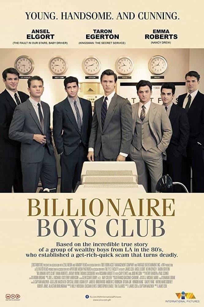 Milijardierių klubas / Billionaire Boys Club (2018) žiūrėti online