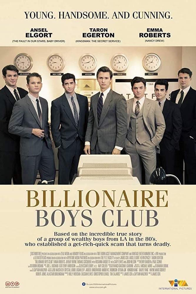 Milijardierių klubas / Billionaire Boys Club (2018)