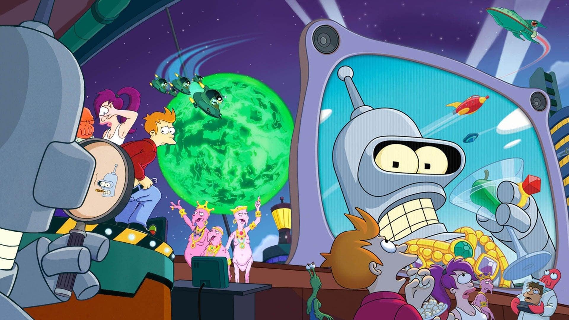 Futurama: Bender's Big Score Movie