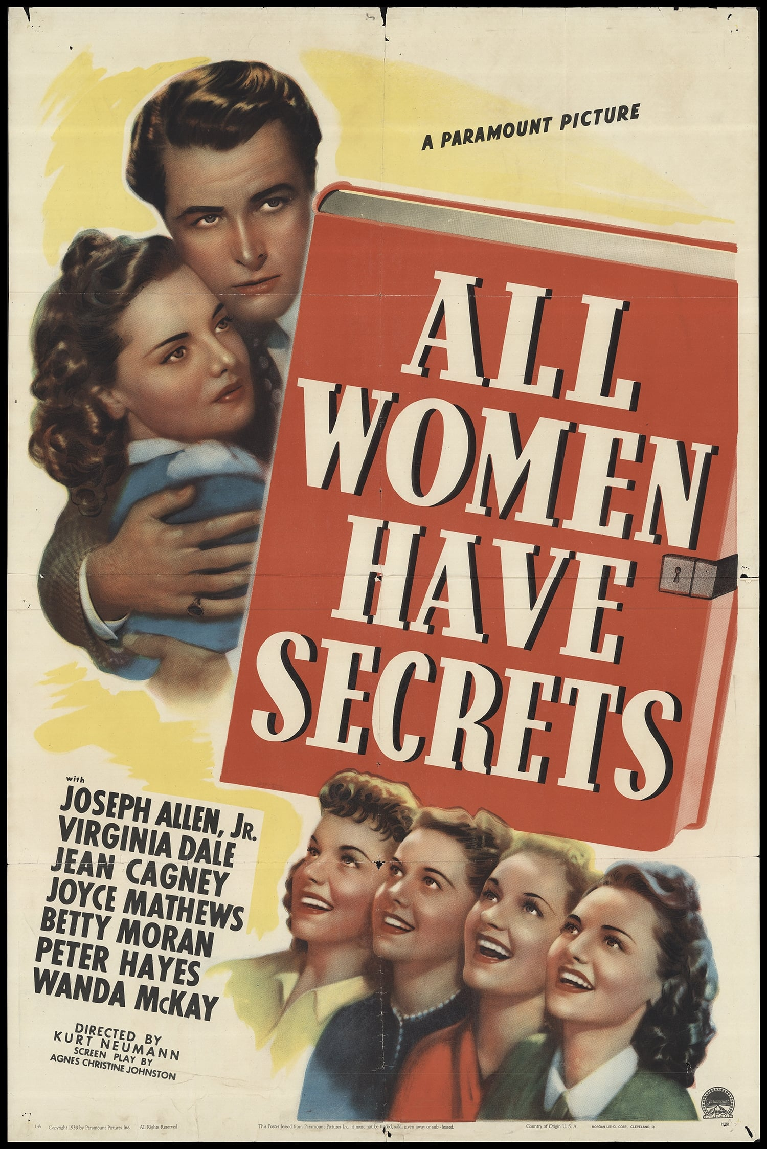 Ver All Women Have Secrets Online HD Español (1939)