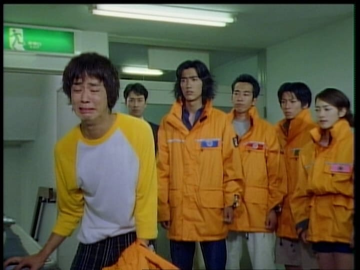 Super Sentai Season 23 :Episode 27  Yellow Leaves the Front