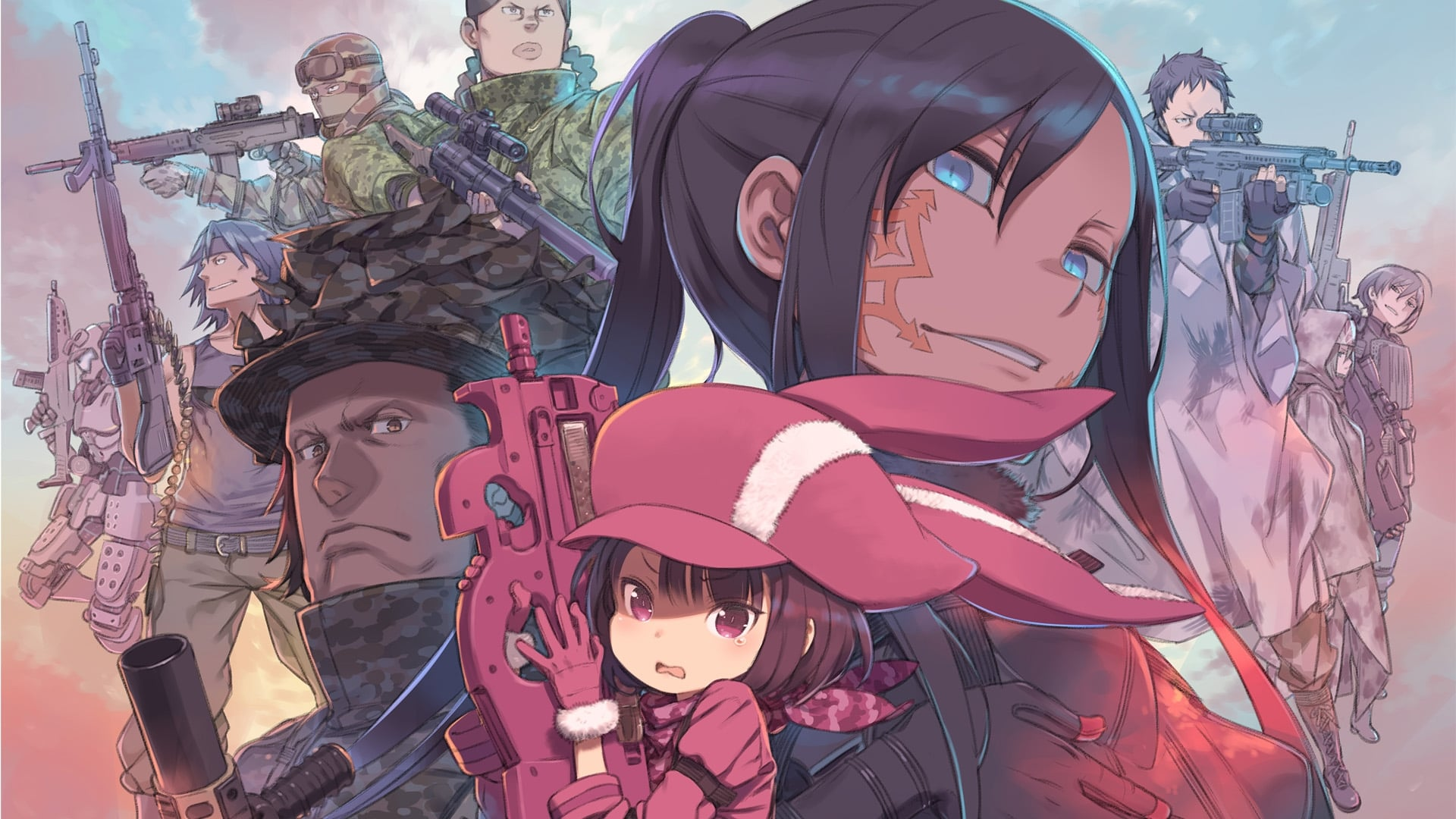 Sword Art Online Alternative: Gun Gale Online (03/??) | Carpetacontenedora | Sub español | Mega