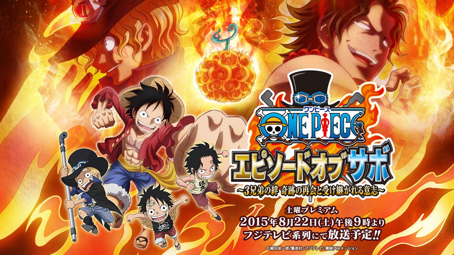 One Piece Season 0 :Episode 29  Episode of Sabo: Bond of Three Brothers