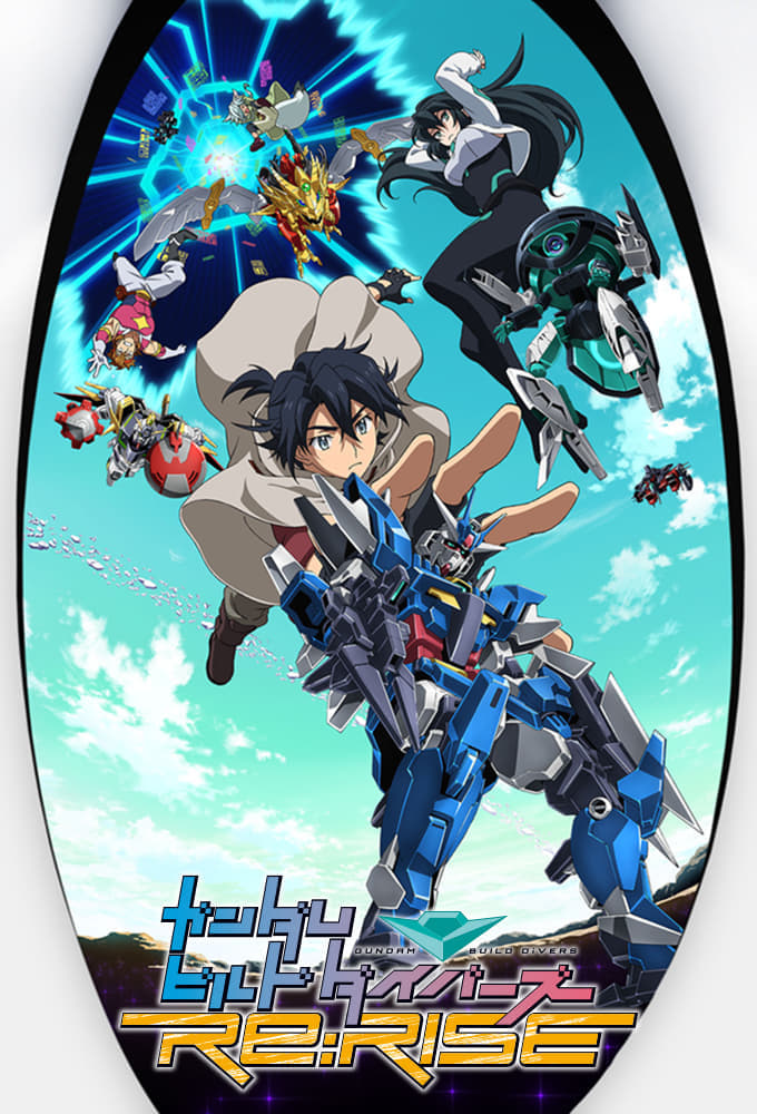 Gundam Build Divers Re:Rise 2nd Season Sub Indo