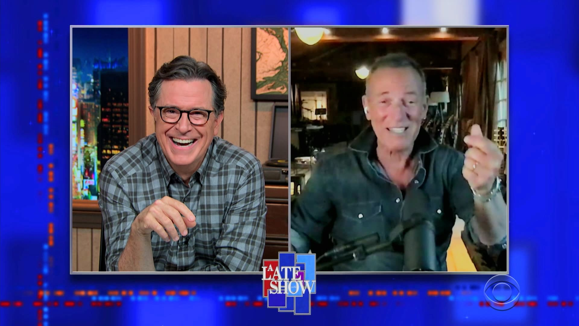 The Late Show with Stephen Colbert Season 6 :Episode 21  Bruce Springsteen, Eva Longoria