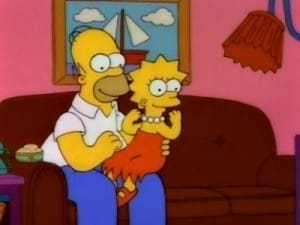 The Simpsons Season 3 :Episode 14  Lisa the Greek