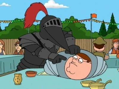 Family Guy Season 3 :Episode 9  Mr. Saturday Knight