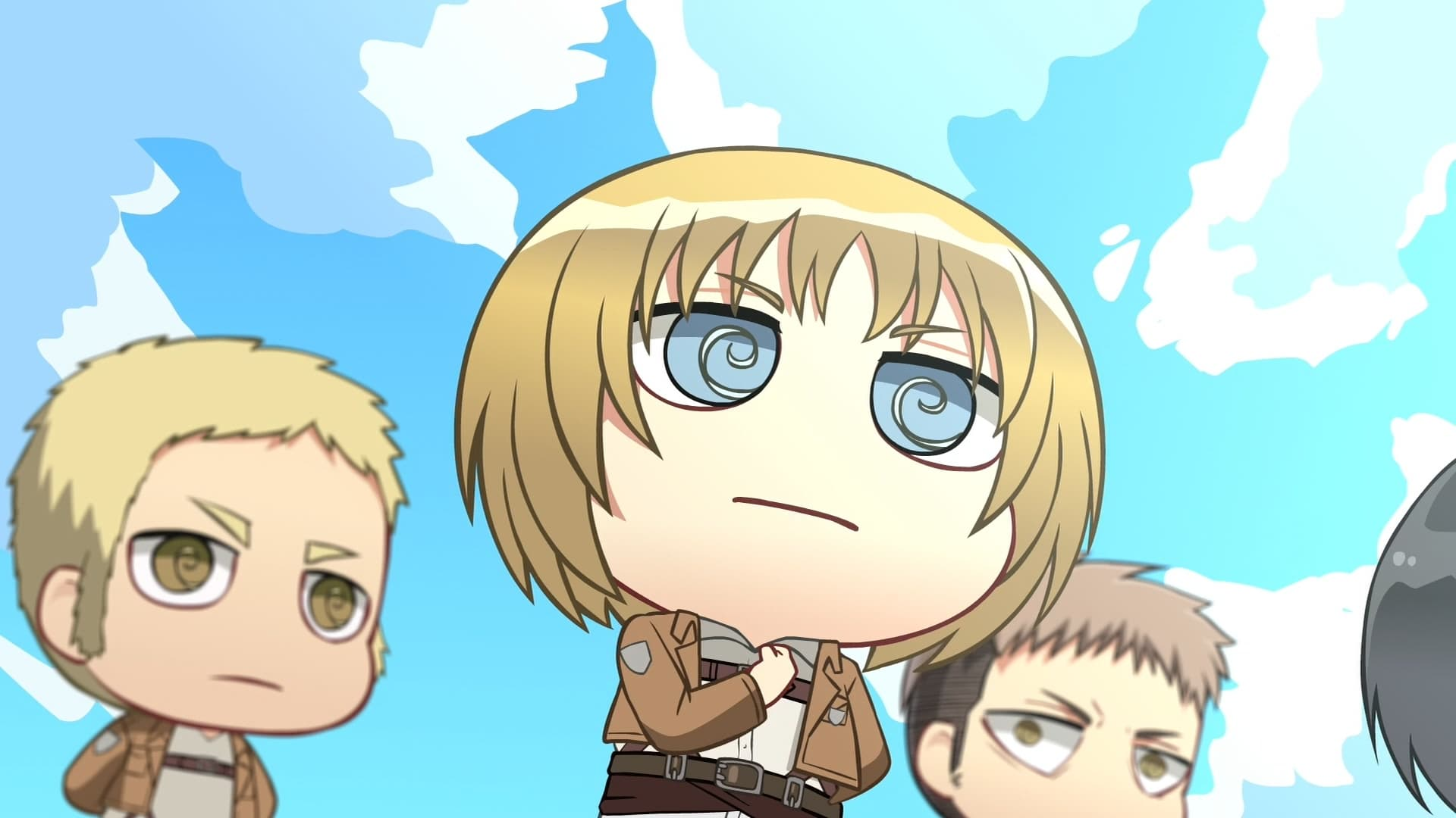 Attack on Titan Season 0 :Episode 3  Chibi Theater: Fly, Cadets, Fly!: Day 3 / Day 4