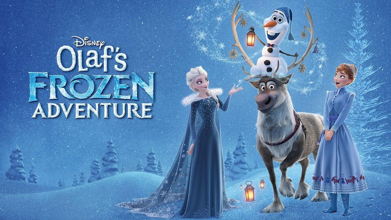 Замръзналото кралство: Коледа с Олаф