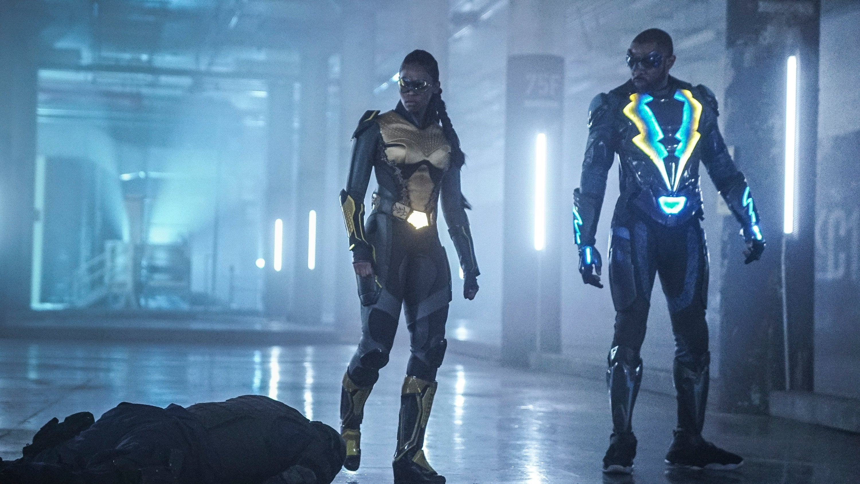 Black Lightning Season 1 :Episode 10  Sins of the Father: The Book of Redemption