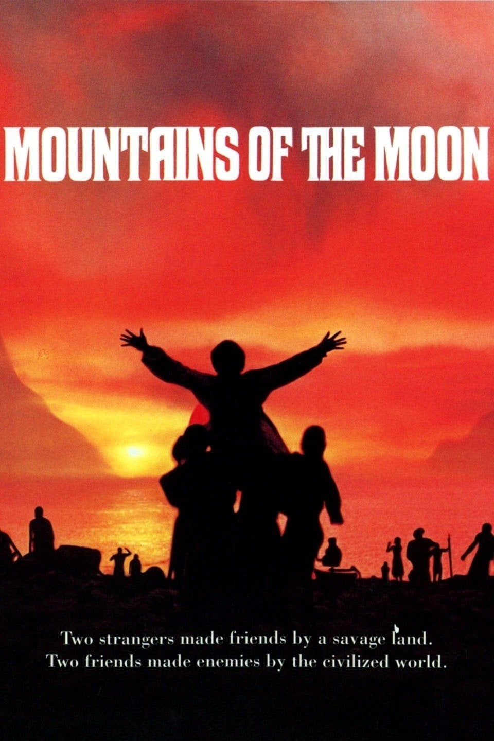 mountains of the moon 1990 posters the movie database tmdb. Black Bedroom Furniture Sets. Home Design Ideas