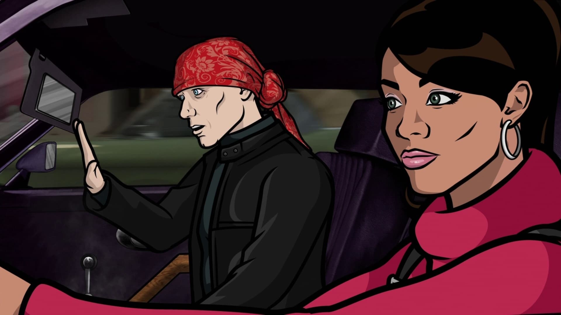 Archer Season 2 :Episode 9  Placebo Effect