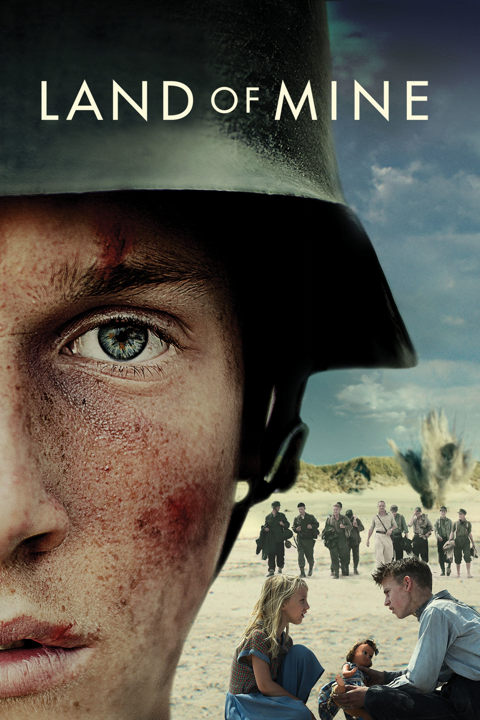 Póster Land of Mine (Bajo la arena)