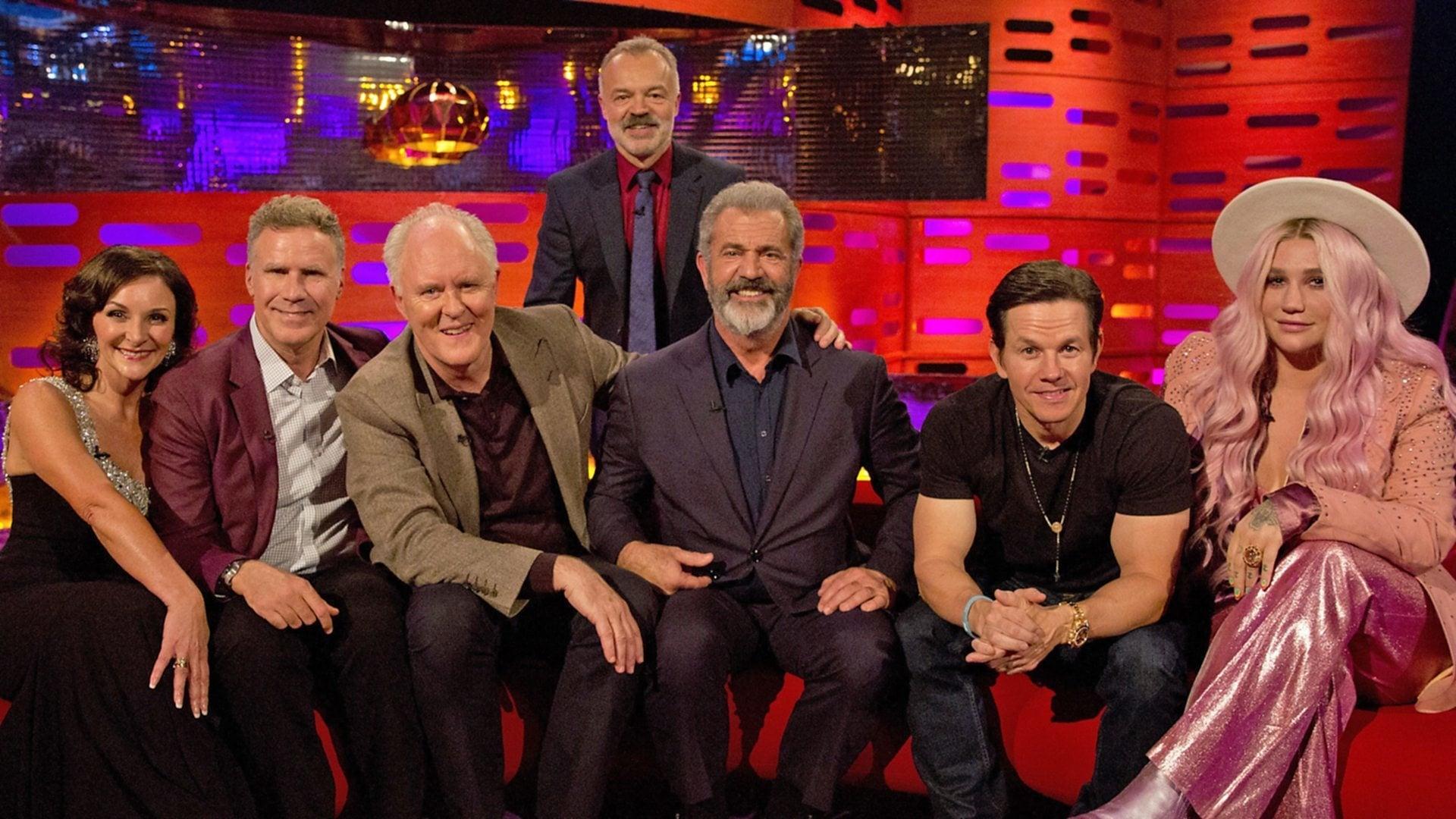 The Graham Norton Show Season 22 :Episode 8  Mel Gibson, Will Ferrell, Mark Wahlberg, John Lithgow, Kesha
