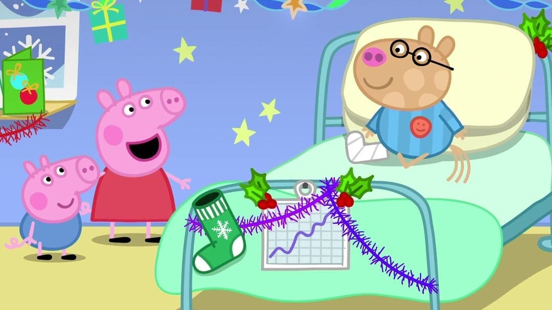 Peppa Pig Season 6 :Episode 26  Christmas at the Hospital