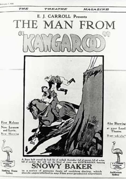 Ver The Man from Kangaroo Online HD Español (1922)