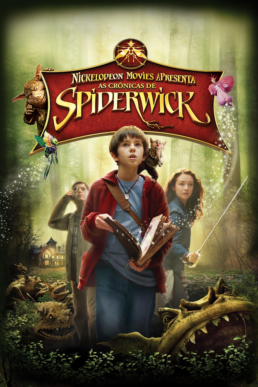 capa As Crônicas de Spiderwick