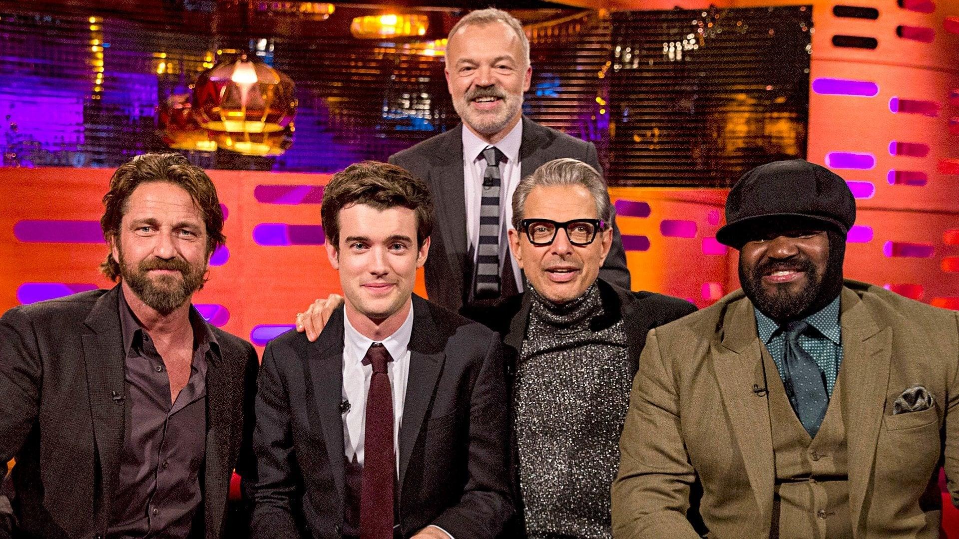 The Graham Norton Show Season 22 :Episode 4  Hillary Clinton, Jeff Goldblum, Gerard Butler, Jack Whitehall