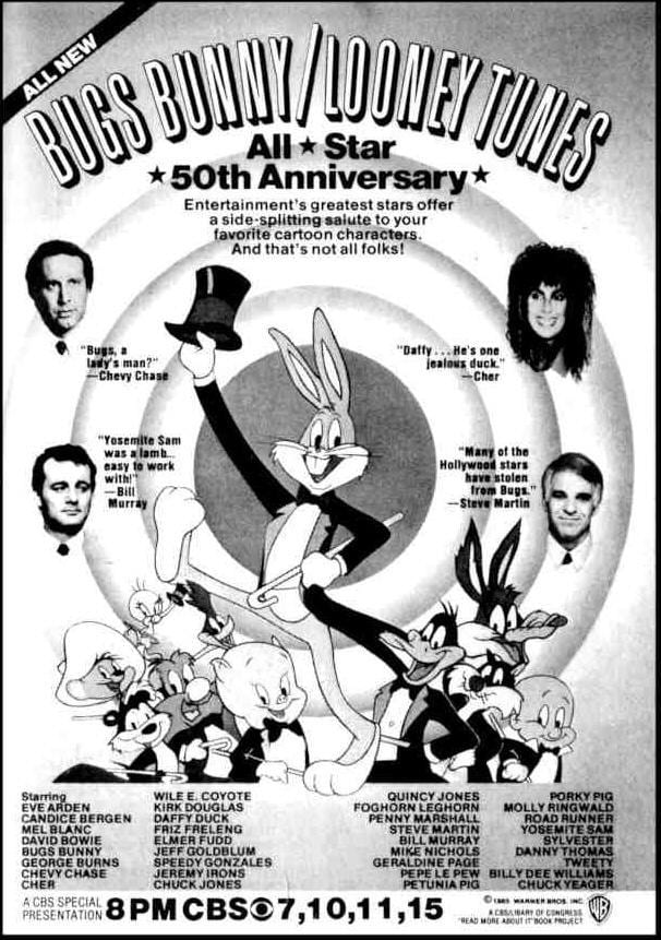Ver Bugs Bunny/Looney Tunes All-Star 50th Anniversary Online HD Español ()