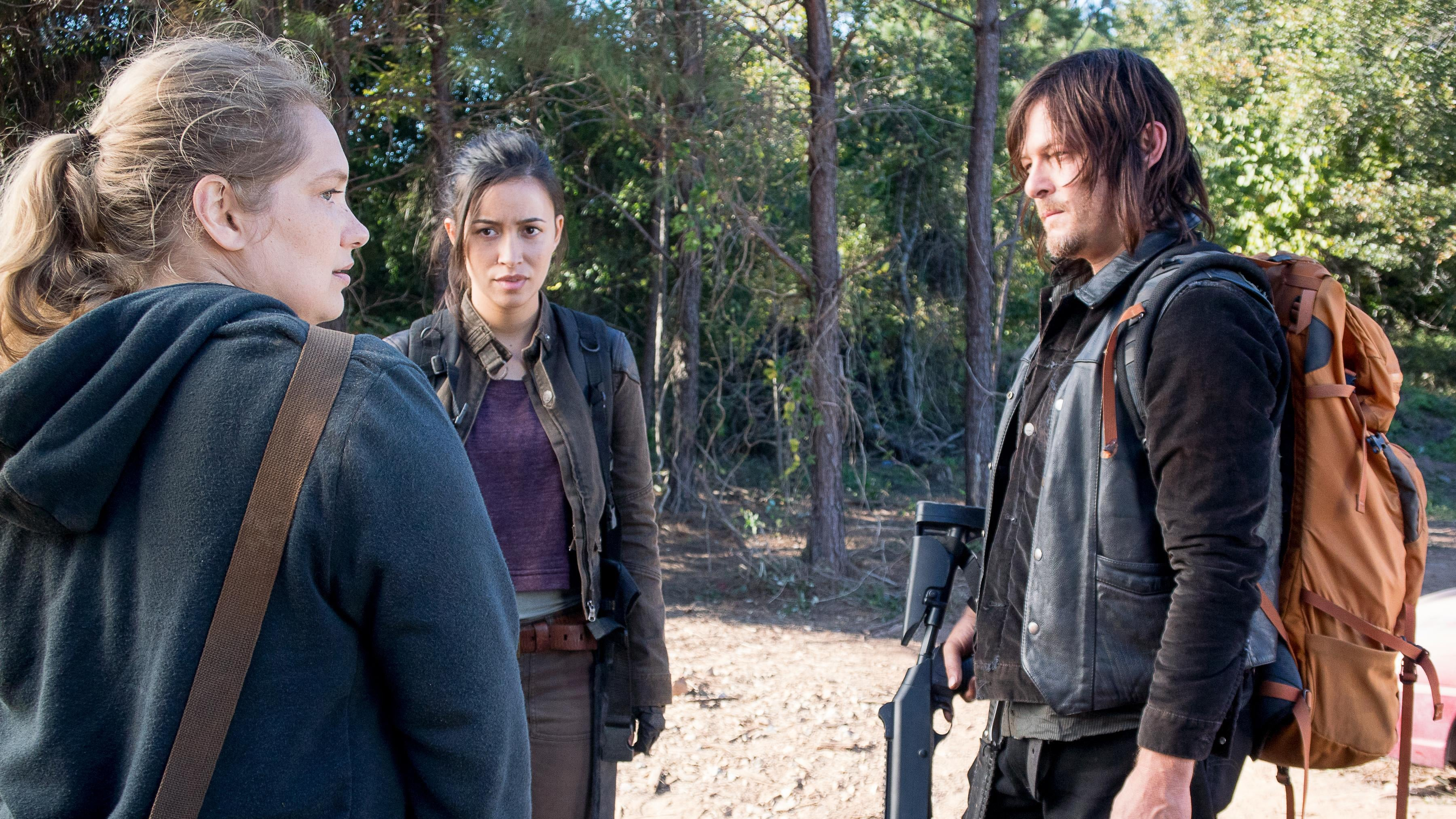 The Walking Dead Season 6 :Episode 14  Twice As Far