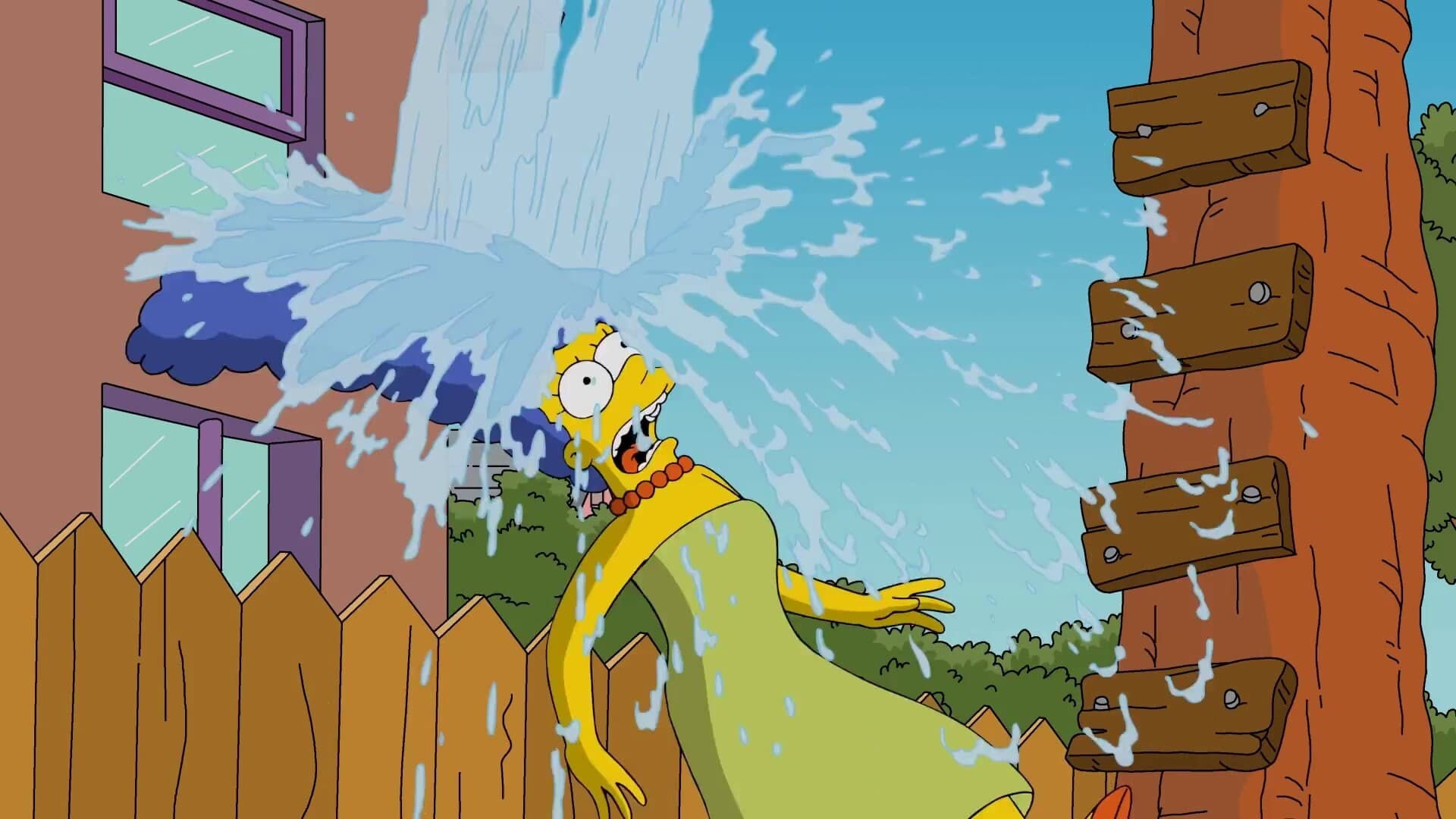 The Simpsons Season 0 :Episode 72  Marge Simpson's ALS Ice Bucket Challenge