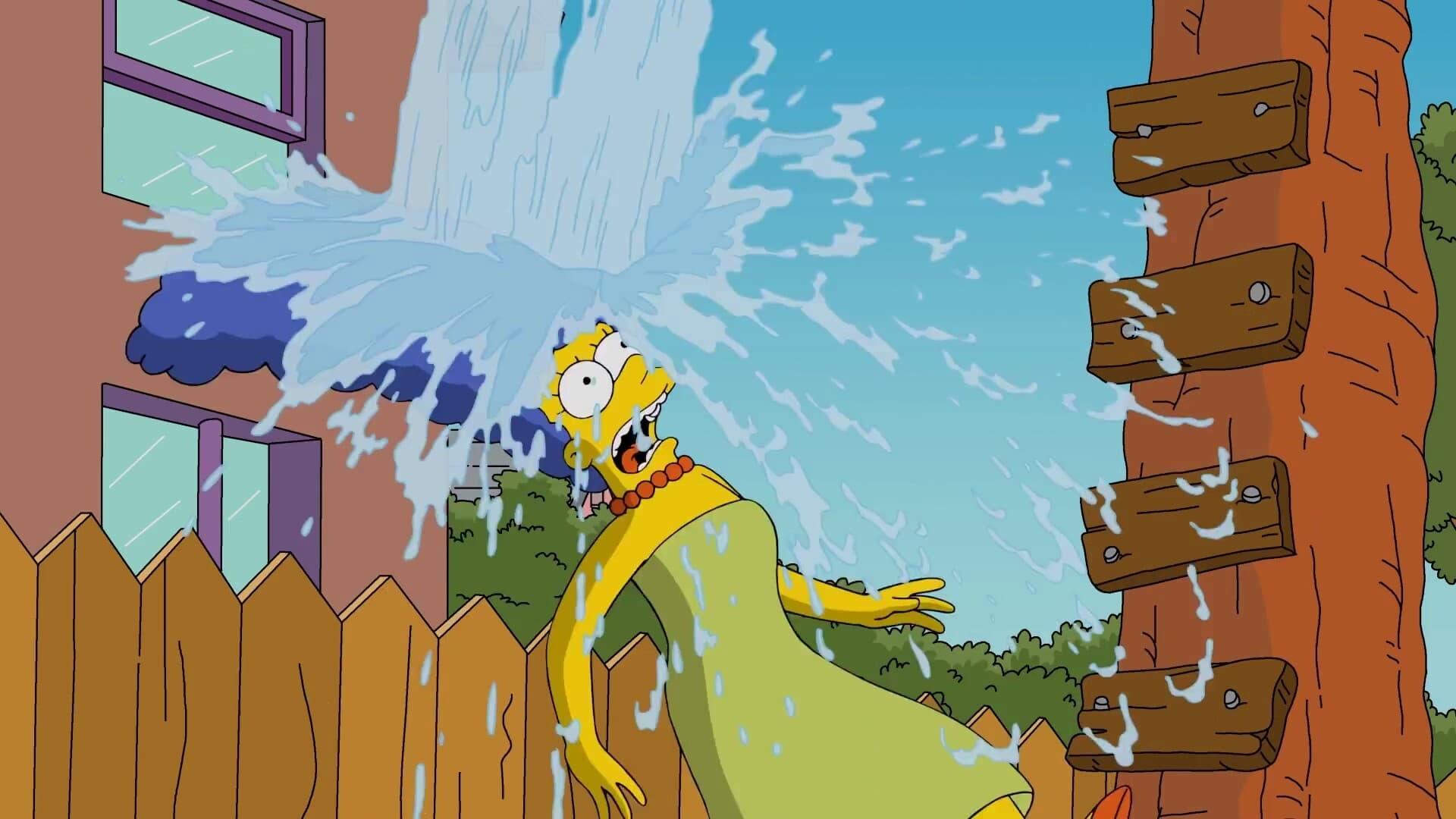 The Simpsons - Season 0 Episode 72 : Marge Simpson's ALS Ice Bucket Challenge