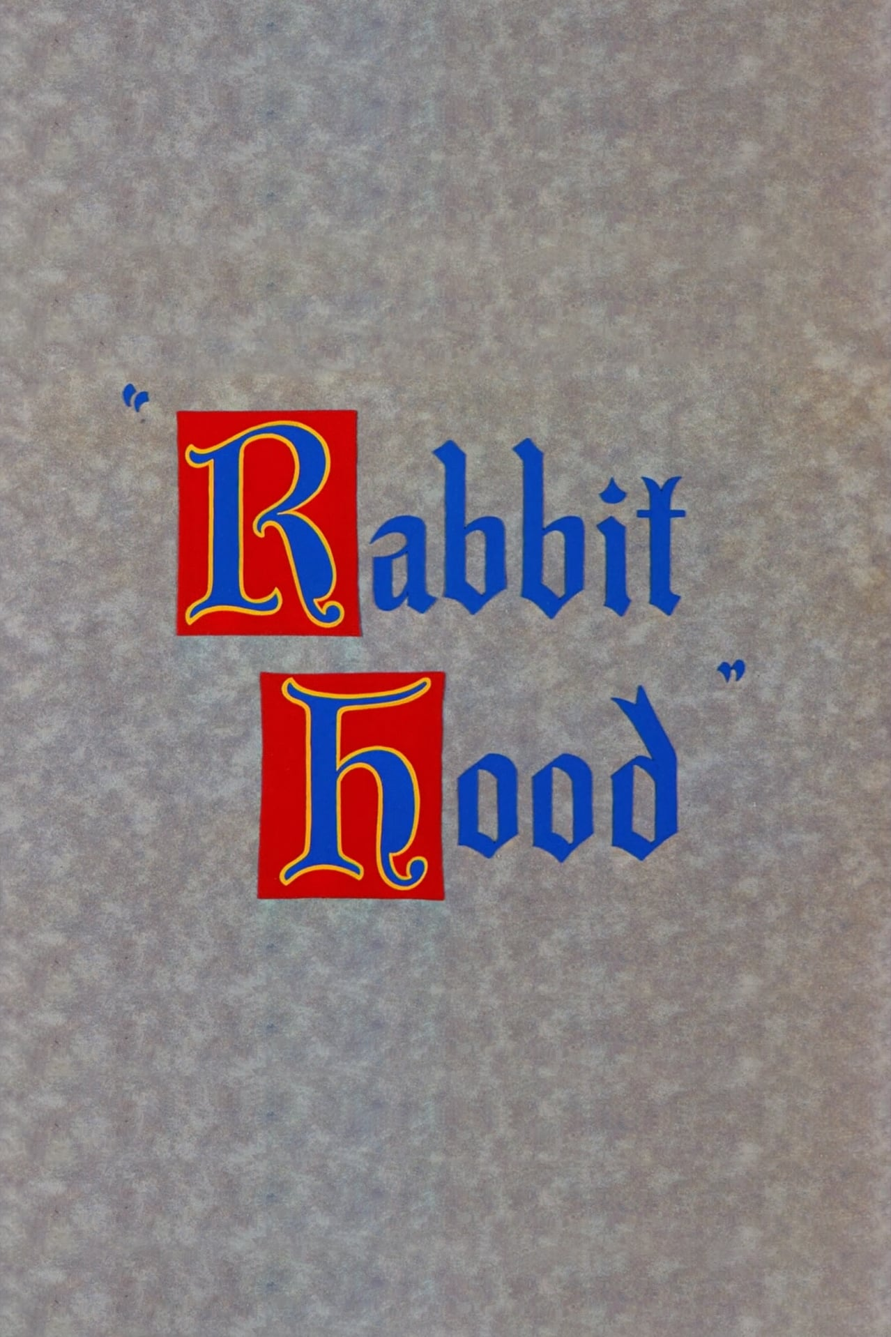 Rabbit Hood (1949)
