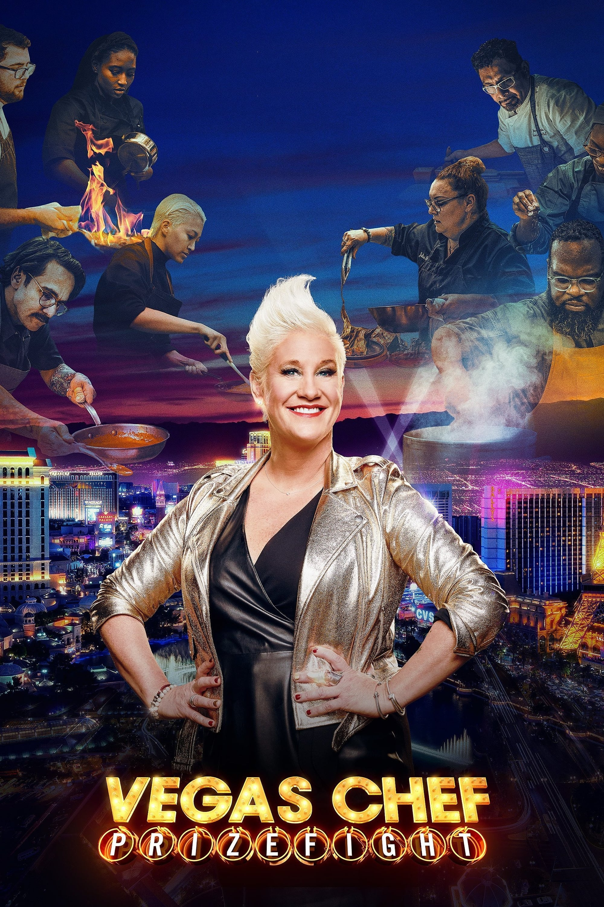 Vegas Chef Prizefight TV Shows About Cooking Competition