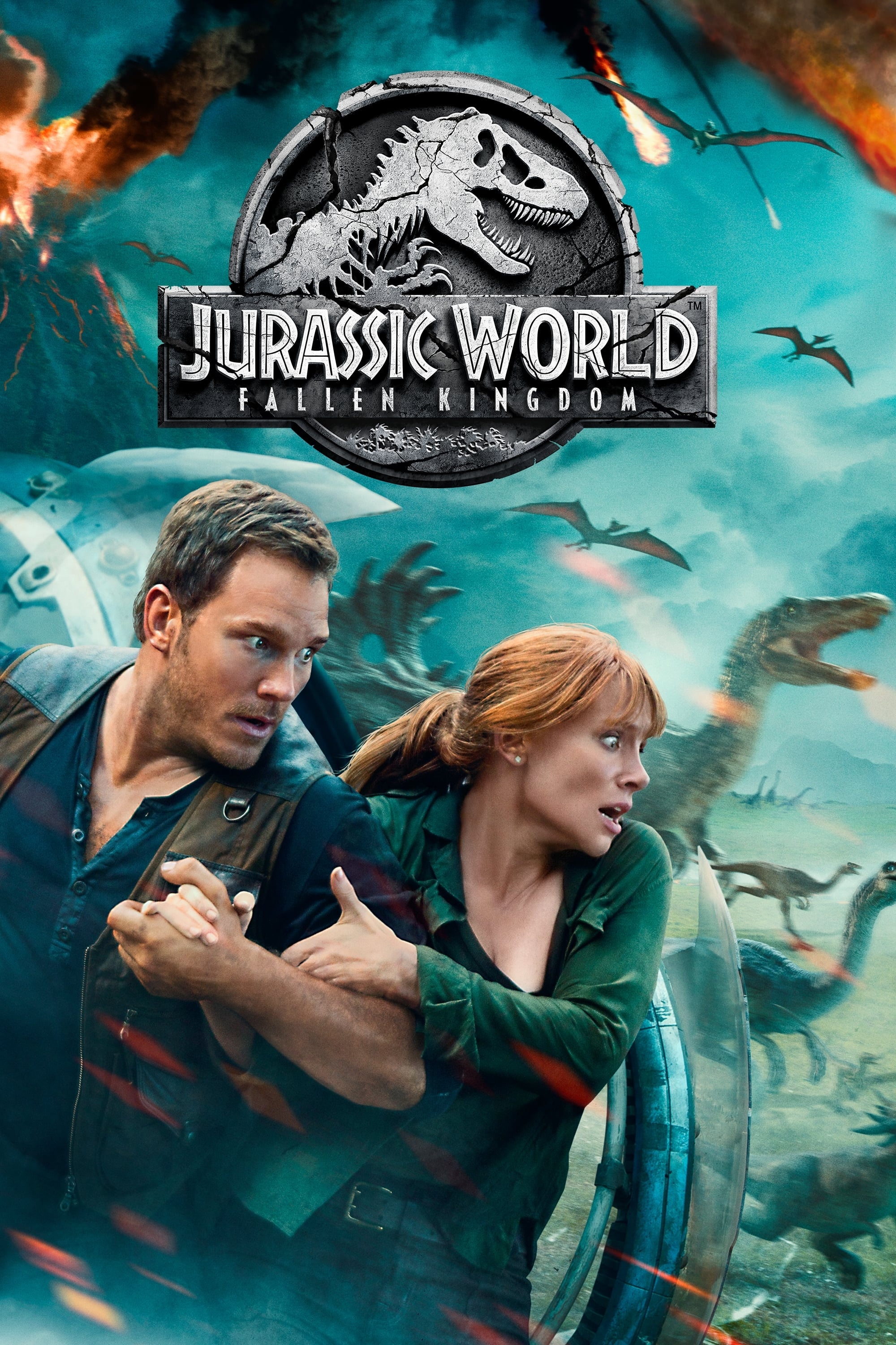 Jurassic World: El Reino Caído (2018) HD 1080P LATINO/INGLES
