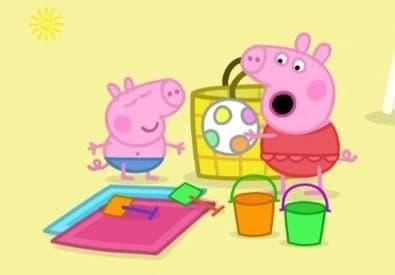 Peppa Pig Season 1 :Episode 46  At The Beach
