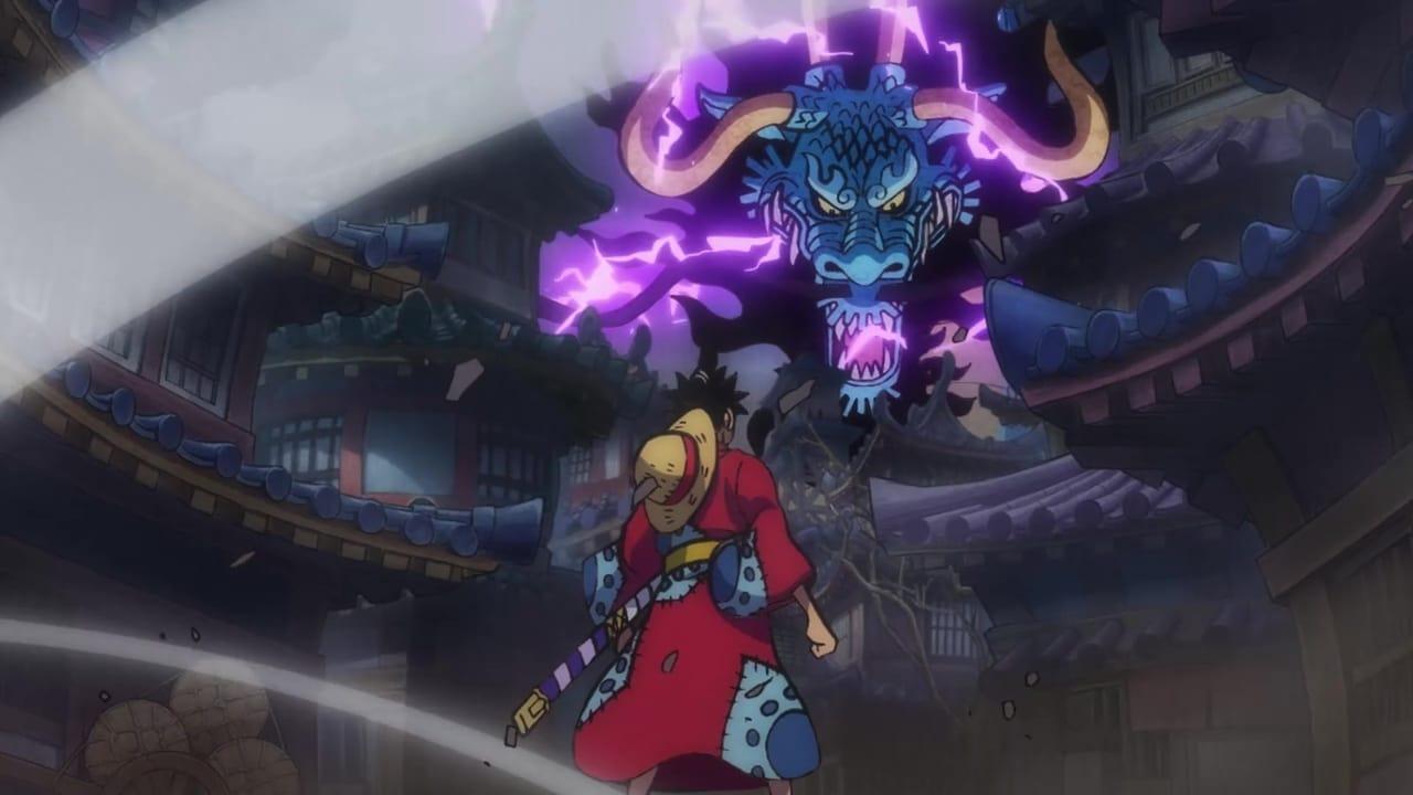One Piece Season 21 :Episode 914  Finally Clashing! The Ferocious Luffy vs. Kaido!