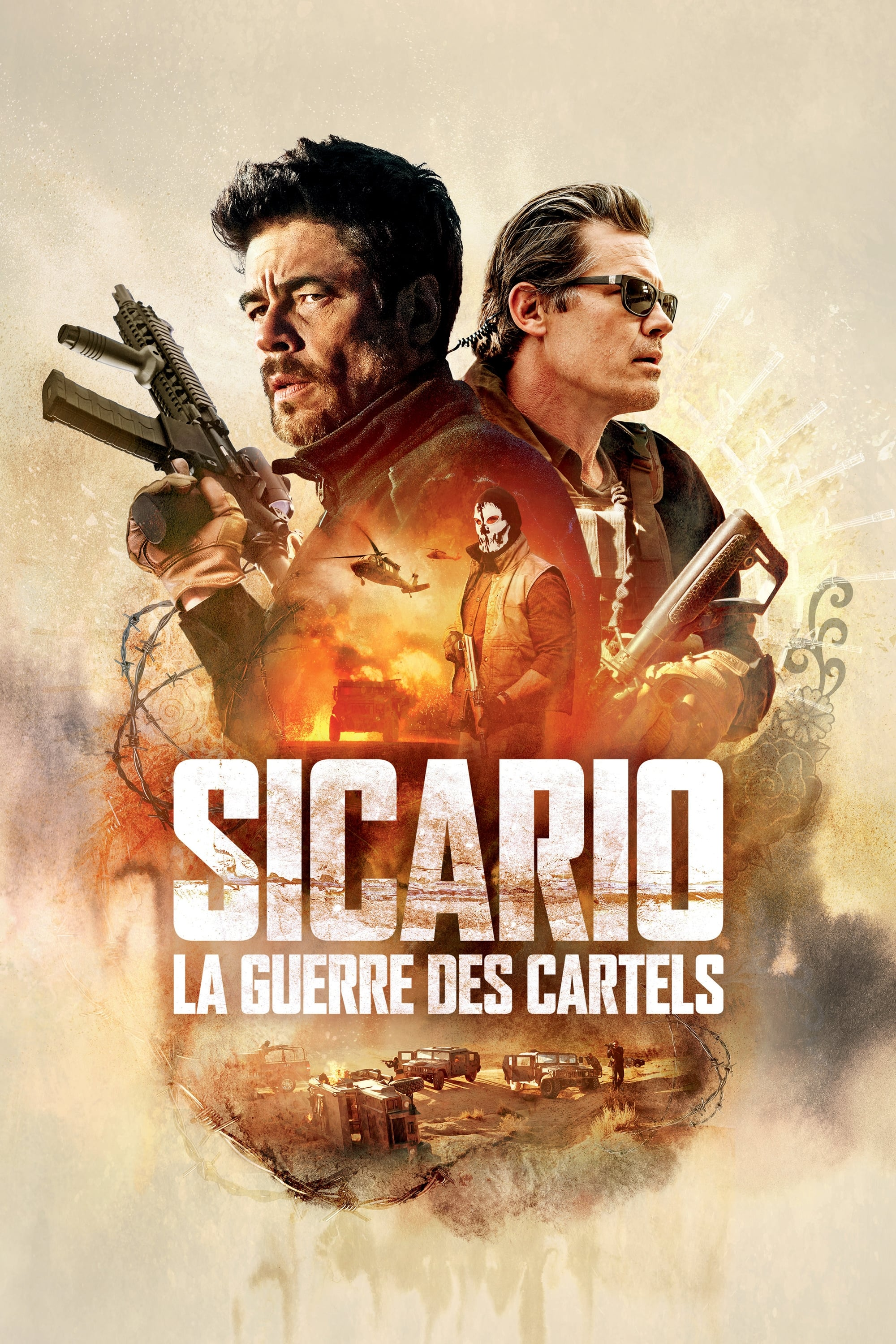 Sicario : La Guerre des Cartels streaming