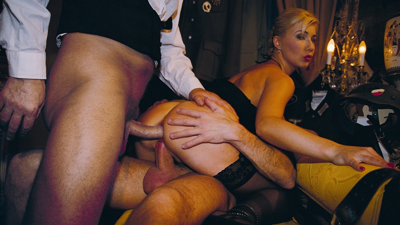 Rich woman sex, pussy insertion granny