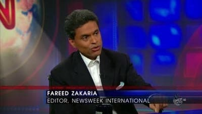 The Daily Show with Trevor Noah Season 15 :Episode 93 Fareed Zakaria